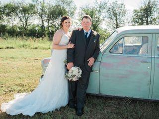 The wedding of Josie and Ben