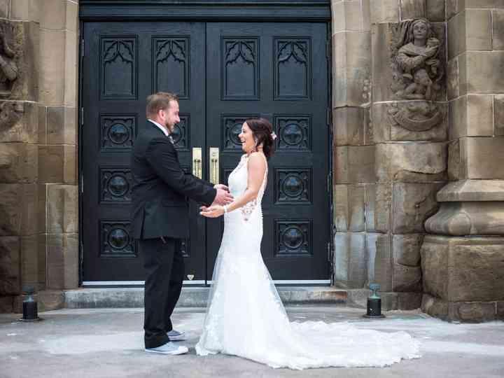 The wedding of Vanessa and Sébastien