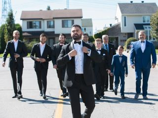 The wedding of Melissa and Hassa 3
