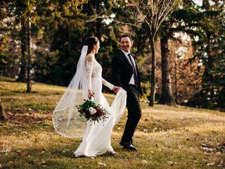 The wedding of Kristina and Sheldon