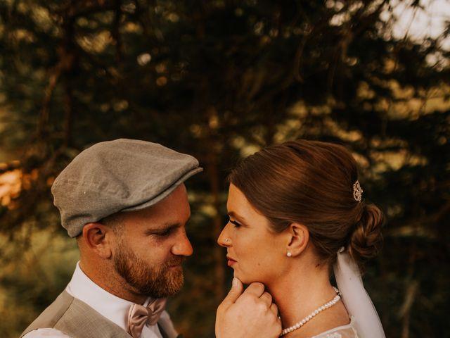 The wedding of Sabrina and Kyle