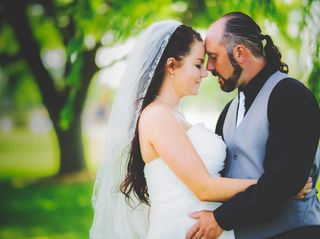 The wedding of Liana and Phil 2