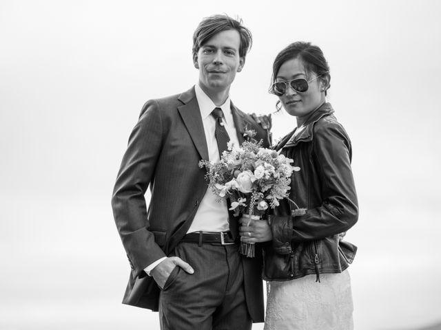 The wedding of Patti and Sam