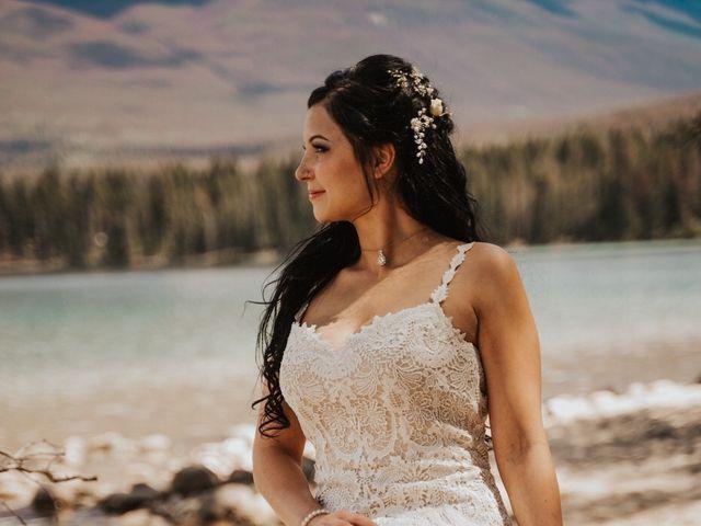 Curtis and Rain's wedding in Jasper, Alberta 3