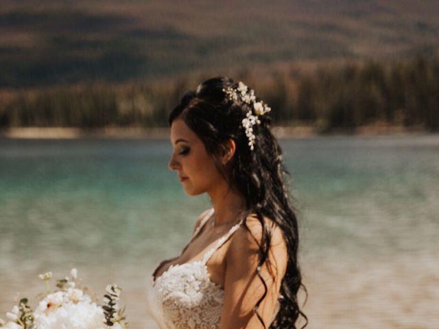 Curtis and Rain's wedding in Jasper, Alberta 4