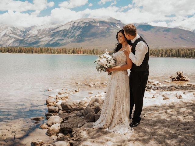 Curtis and Rain's wedding in Jasper, Alberta 6