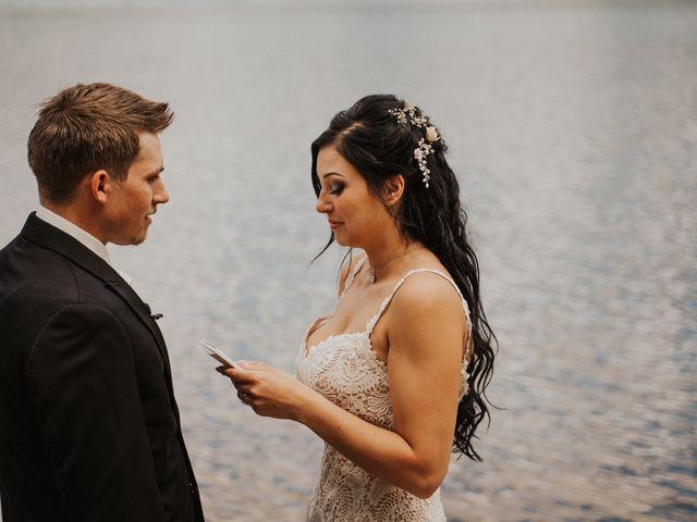 Curtis and Rain's wedding in Jasper, Alberta 7
