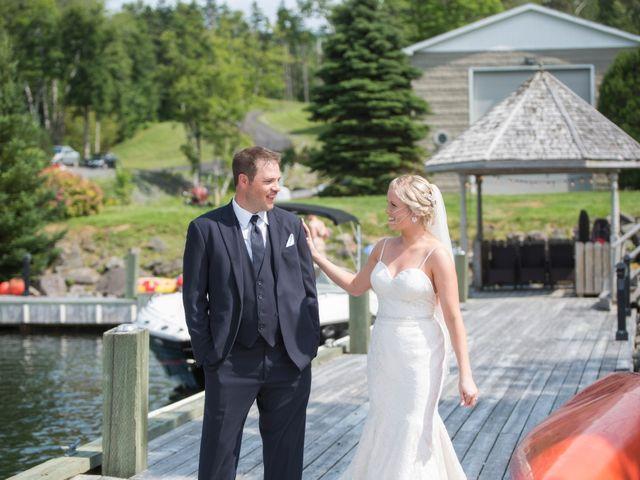 Andrew and Erica's wedding in Baddeck, Nova Scotia 46