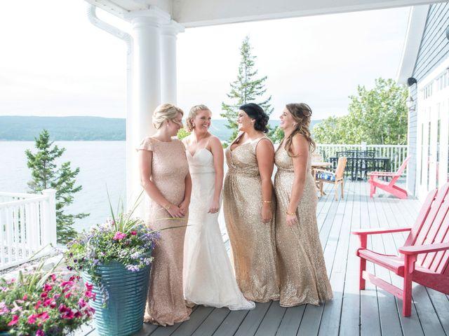 Andrew and Erica's wedding in Baddeck, Nova Scotia 78