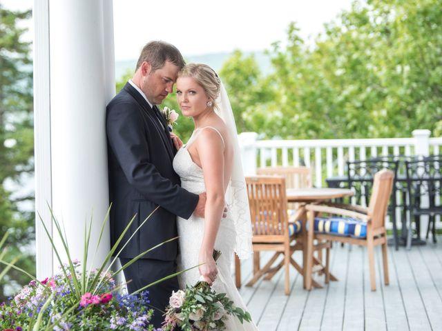 Andrew and Erica's wedding in Baddeck, Nova Scotia 1