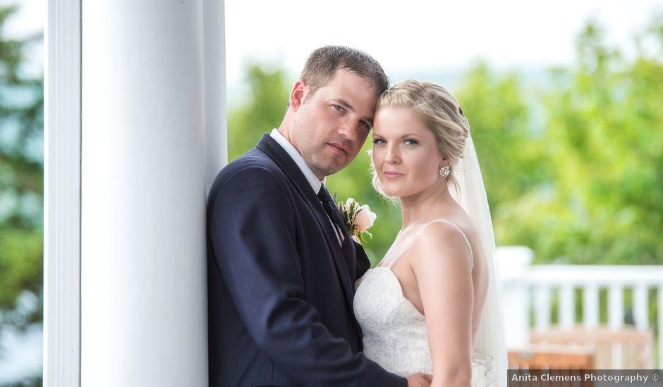 Andrew and Erica's wedding in Baddeck, Nova Scotia