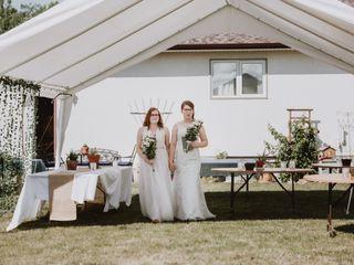 The wedding of Melanie and Zooey 1