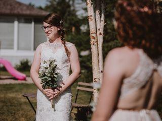 The wedding of Melanie and Zooey 2