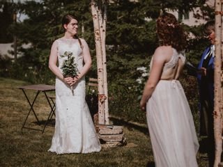 The wedding of Melanie and Zooey 3