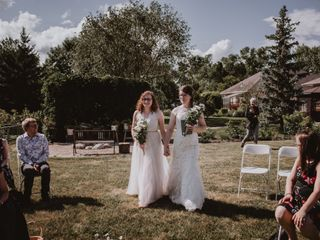 The wedding of Melanie and Zooey
