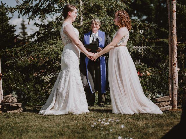 Zooey and Melanie's wedding in Winnipeg, Manitoba 6