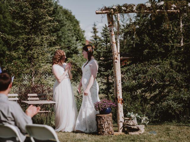 Zooey and Melanie's wedding in Winnipeg, Manitoba 7