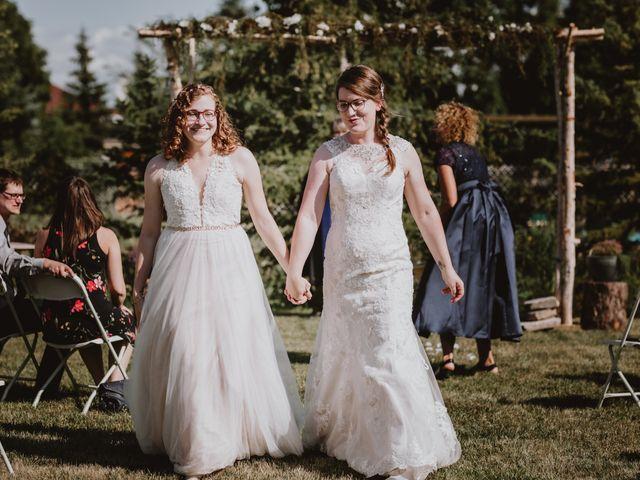 Zooey and Melanie's wedding in Winnipeg, Manitoba 8