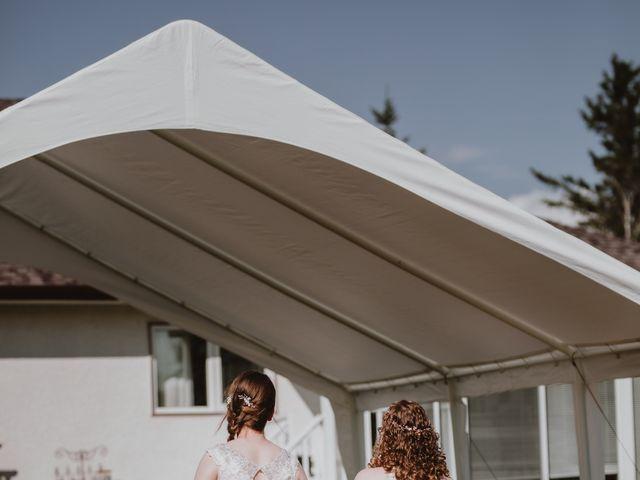 Zooey and Melanie's wedding in Winnipeg, Manitoba 9