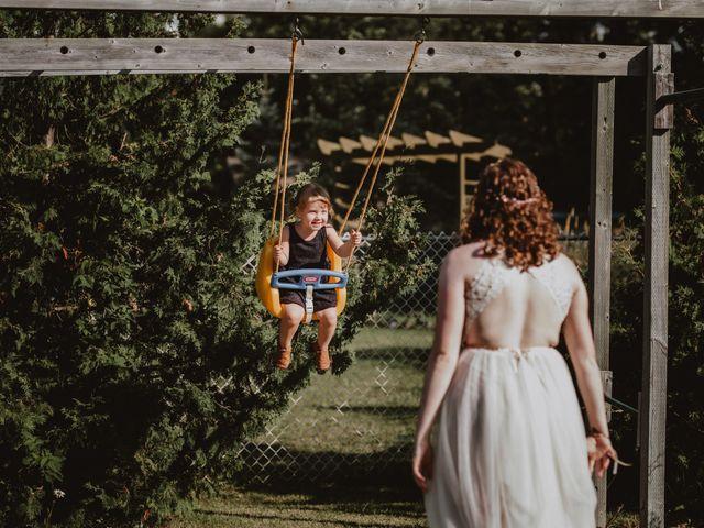 Zooey and Melanie's wedding in Winnipeg, Manitoba 10