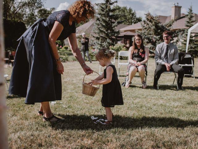 Zooey and Melanie's wedding in Winnipeg, Manitoba 17
