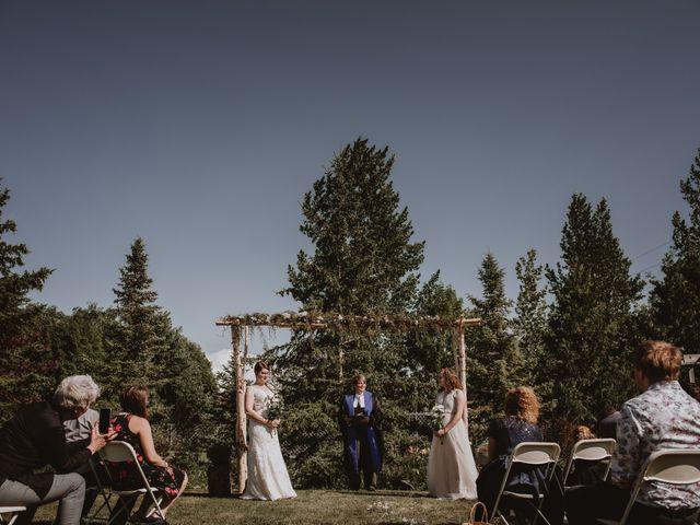 Zooey and Melanie's wedding in Winnipeg, Manitoba 20