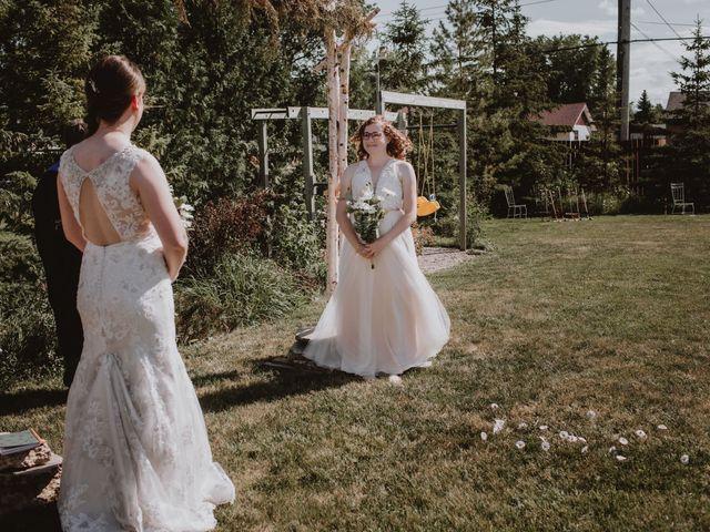 Zooey and Melanie's wedding in Winnipeg, Manitoba 21