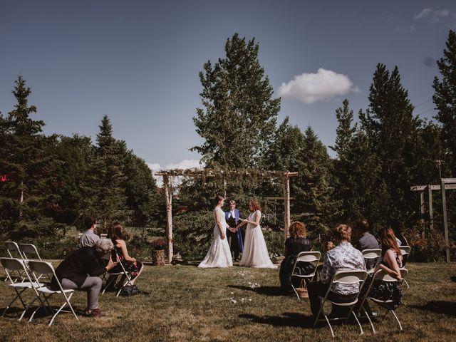 Zooey and Melanie's wedding in Winnipeg, Manitoba 23
