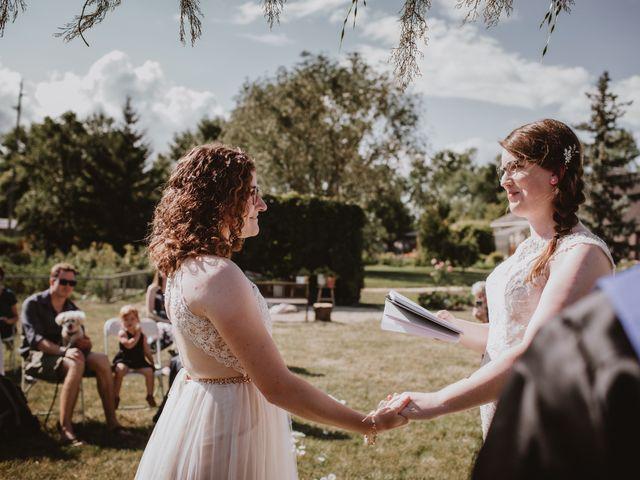 Zooey and Melanie's wedding in Winnipeg, Manitoba 2