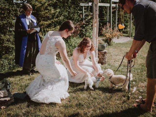 Zooey and Melanie's wedding in Winnipeg, Manitoba 26