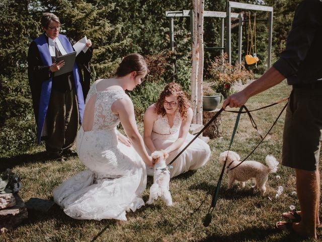Zooey and Melanie's wedding in Winnipeg, Manitoba 27