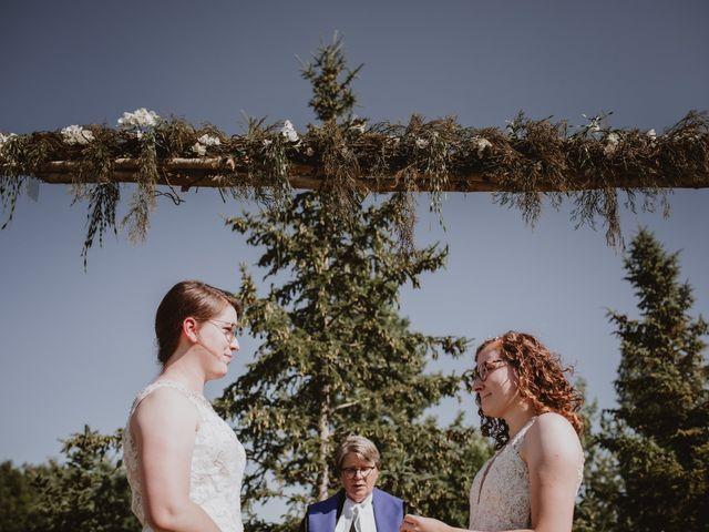 Zooey and Melanie's wedding in Winnipeg, Manitoba 29