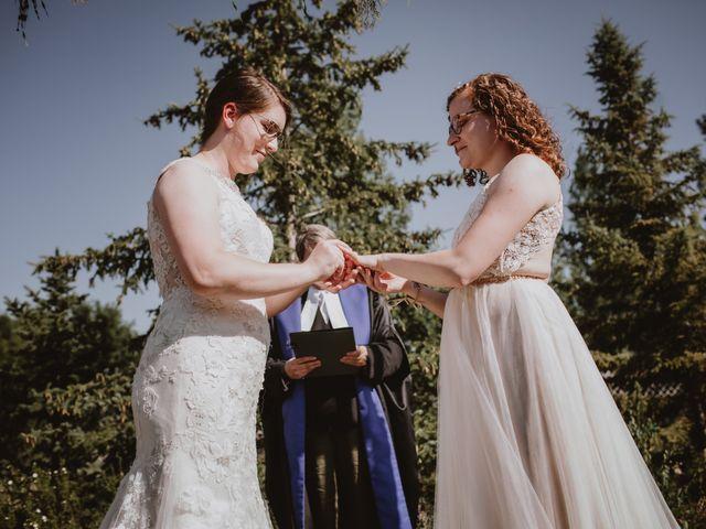 Zooey and Melanie's wedding in Winnipeg, Manitoba 30