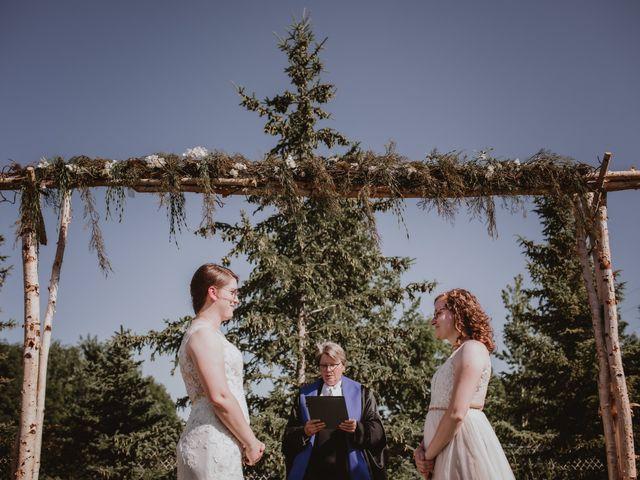 Zooey and Melanie's wedding in Winnipeg, Manitoba 31