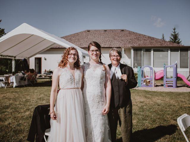 Zooey and Melanie's wedding in Winnipeg, Manitoba 33