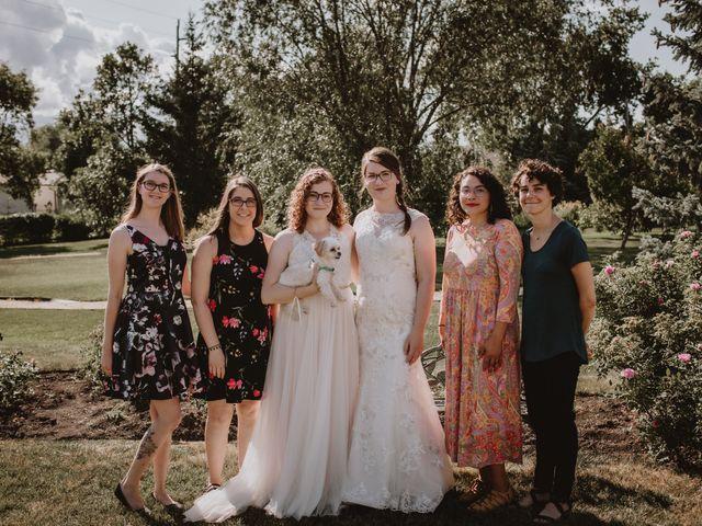 Zooey and Melanie's wedding in Winnipeg, Manitoba 35