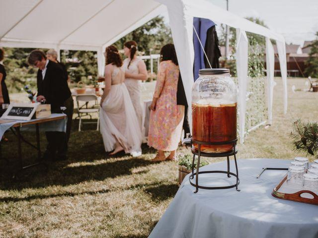 Zooey and Melanie's wedding in Winnipeg, Manitoba 37