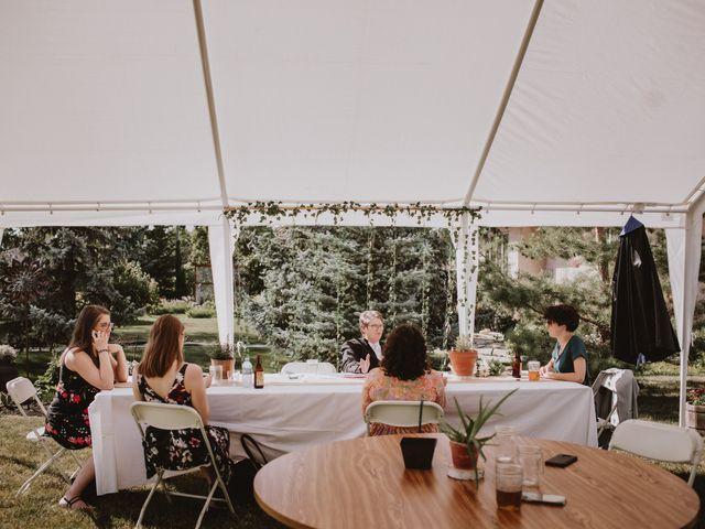 Zooey and Melanie's wedding in Winnipeg, Manitoba 40