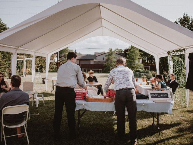 Zooey and Melanie's wedding in Winnipeg, Manitoba 45