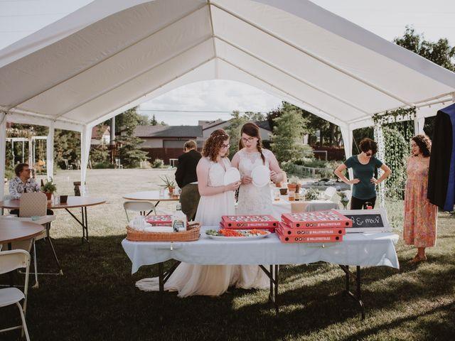 Zooey and Melanie's wedding in Winnipeg, Manitoba 46