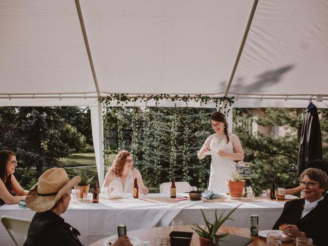 Zooey and Melanie's wedding in Winnipeg, Manitoba 49