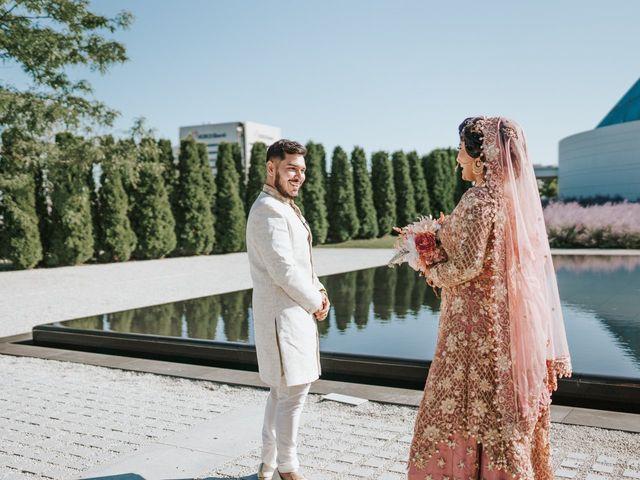 Ratul and Maisha's wedding in Toronto, Ontario 10