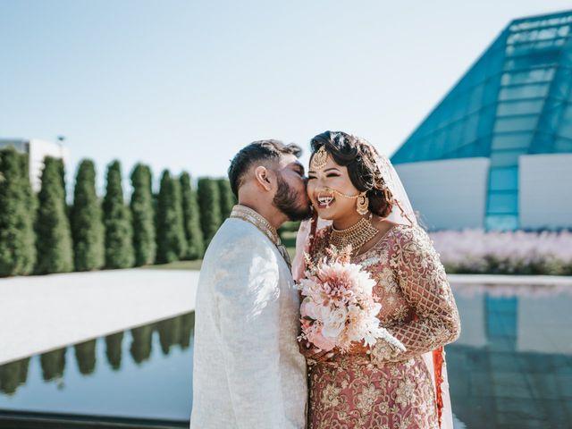Ratul and Maisha's wedding in Toronto, Ontario 12