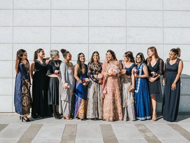 Ratul and Maisha's wedding in Toronto, Ontario 16