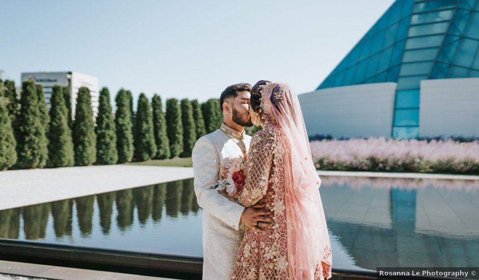 Ratul and Maisha's wedding in Toronto, Ontario