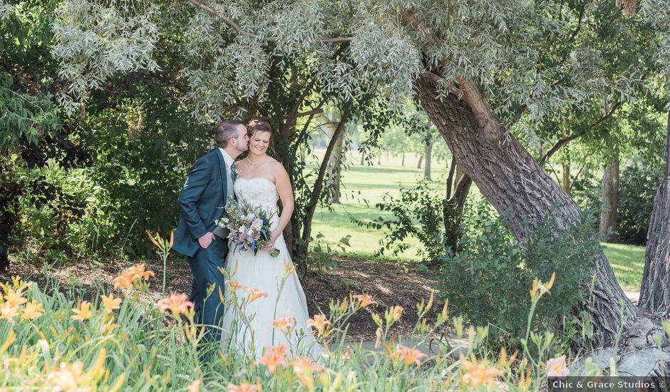 Joe and Angela's wedding in Regina, Saskatchewan
