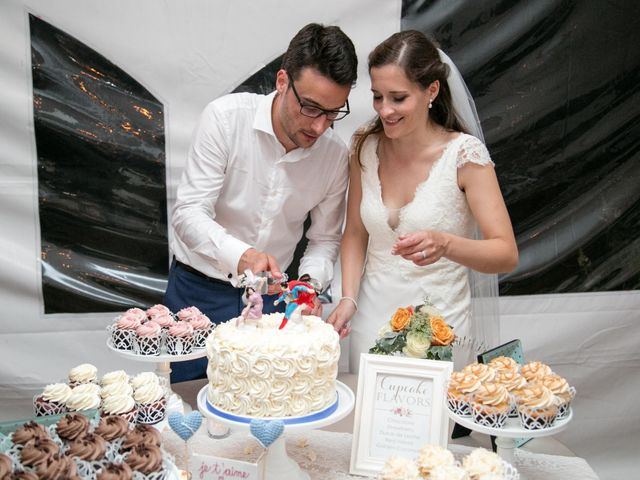 The wedding of Claire and Rémi