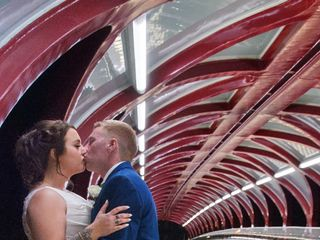 The wedding of Sarah and Devon