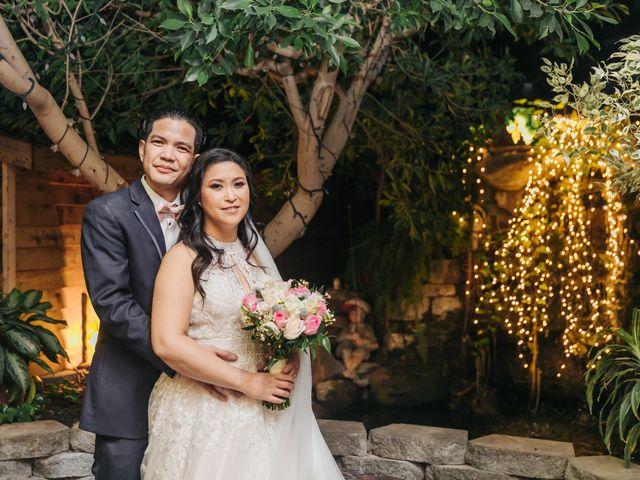 The wedding of Kristine and Ericson