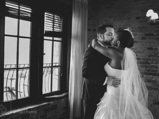 The wedding of Martine and Chris